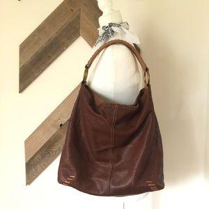 Lucky Brand Leather Hobo